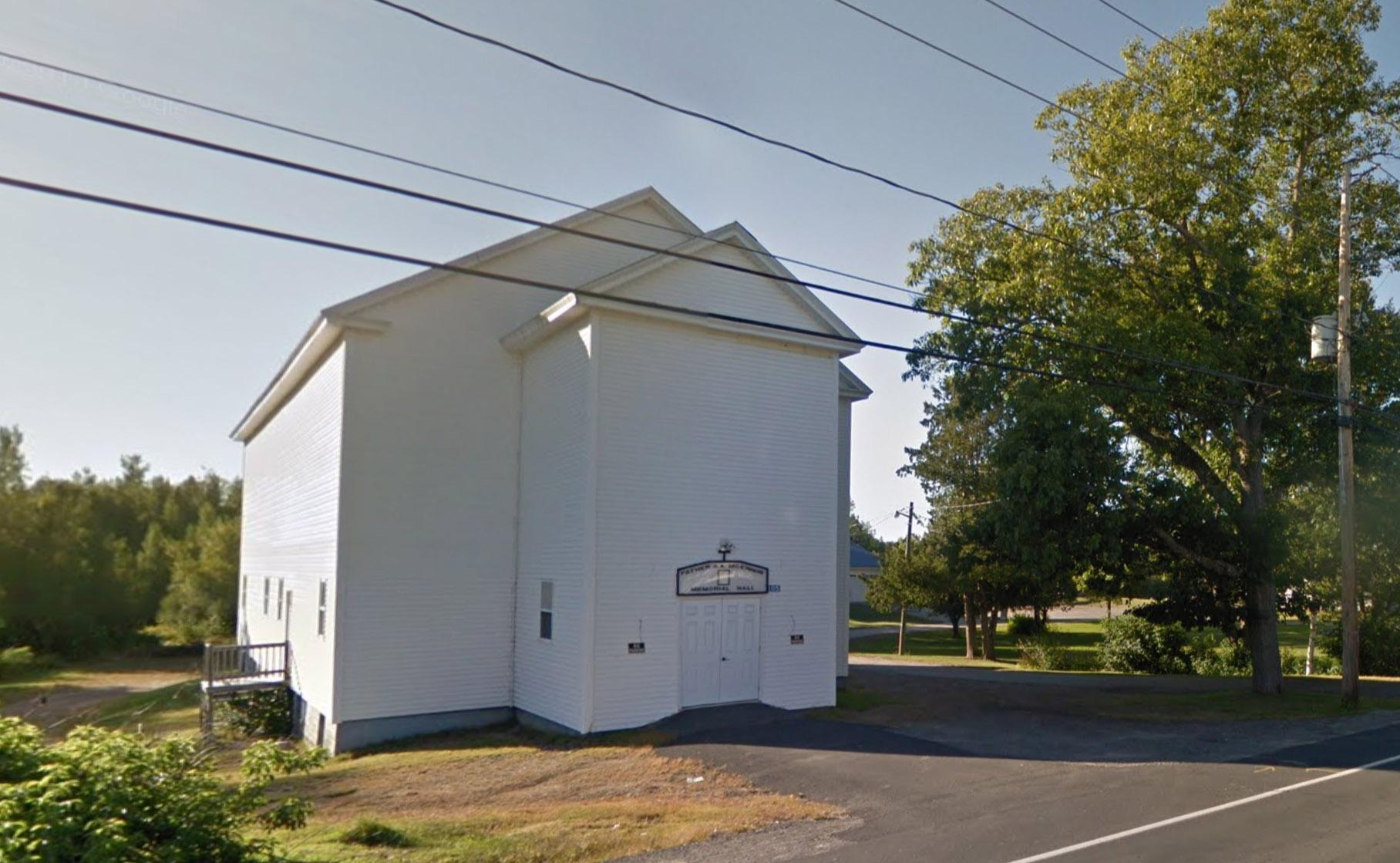 Father AA McKinnon Memorial Hall
